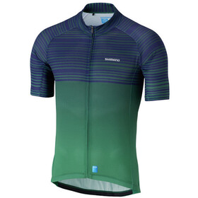Shimano Climbers Maillot Manches courtes Homme, green